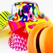 כובעים הדפסים לאירועים